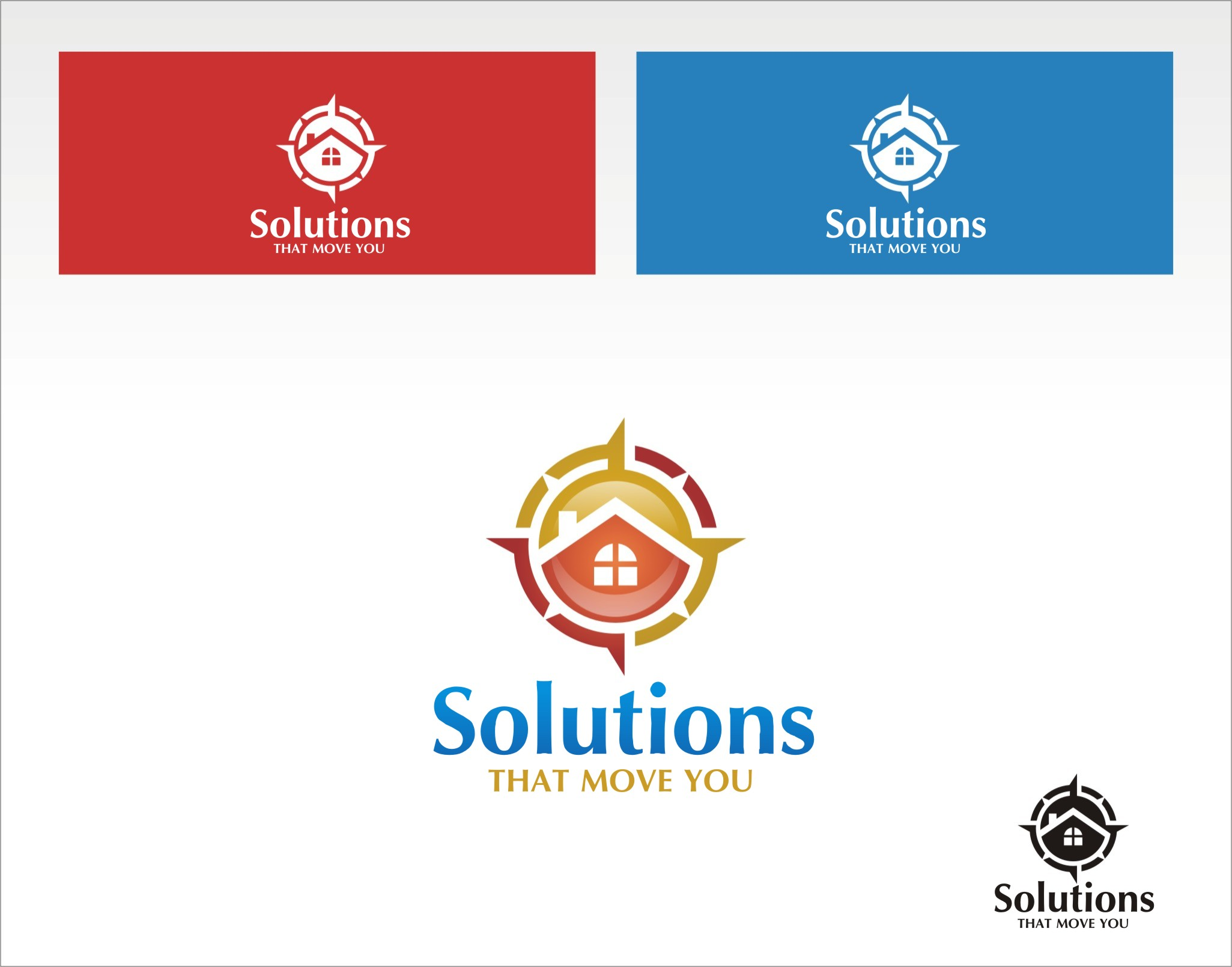 Logo Design by Private User - Entry No. 157 in the Logo Design Contest Imaginative Logo Design for Solutions That Move You.