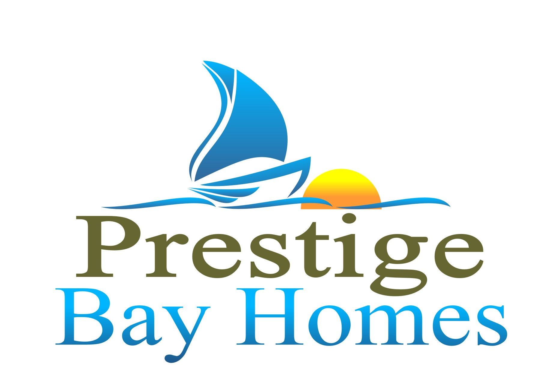 Logo Design by Robert Morgan - Entry No. 147 in the Logo Design Contest Imaginative Logo Design for Prestige Bay Homes.