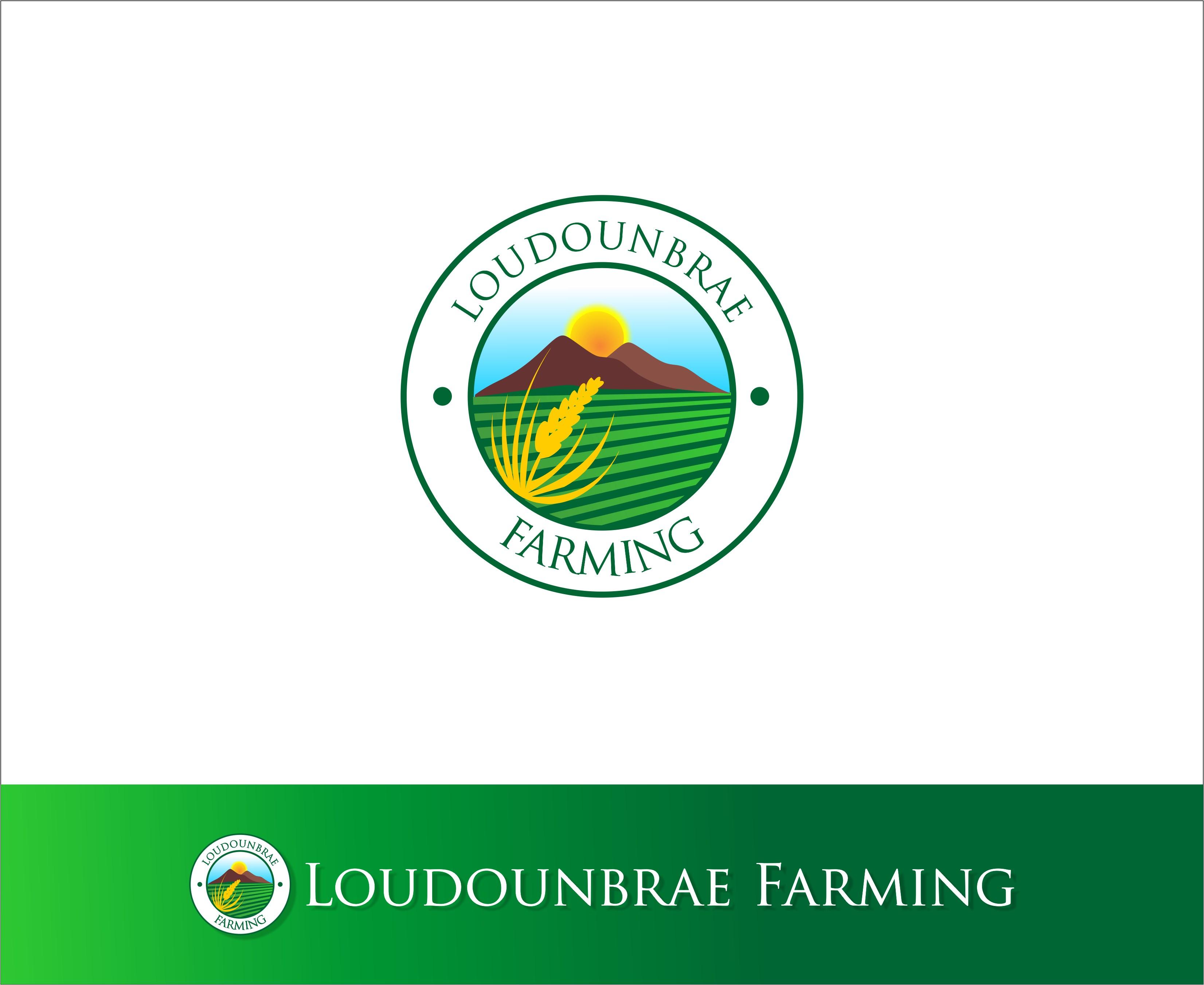 Logo Design by Mhon_Rose - Entry No. 19 in the Logo Design Contest Creative Logo Design for Loudounbrae Farming.
