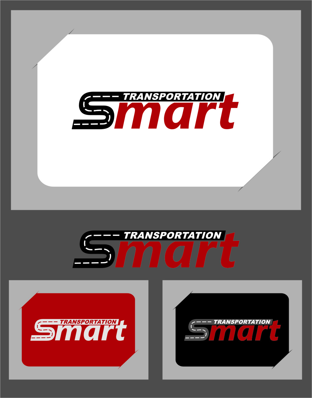 Logo Design by RasYa Muhammad Athaya - Entry No. 83 in the Logo Design Contest Imaginative Logo Design for Smart Transportation.