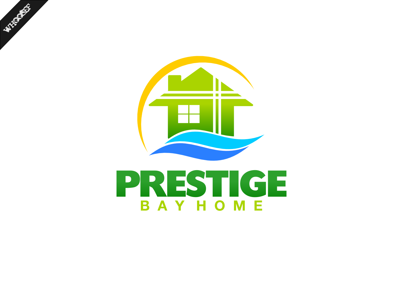 Logo Design by whoosef - Entry No. 149 in the Logo Design Contest Imaginative Logo Design for Prestige Bay Homes.