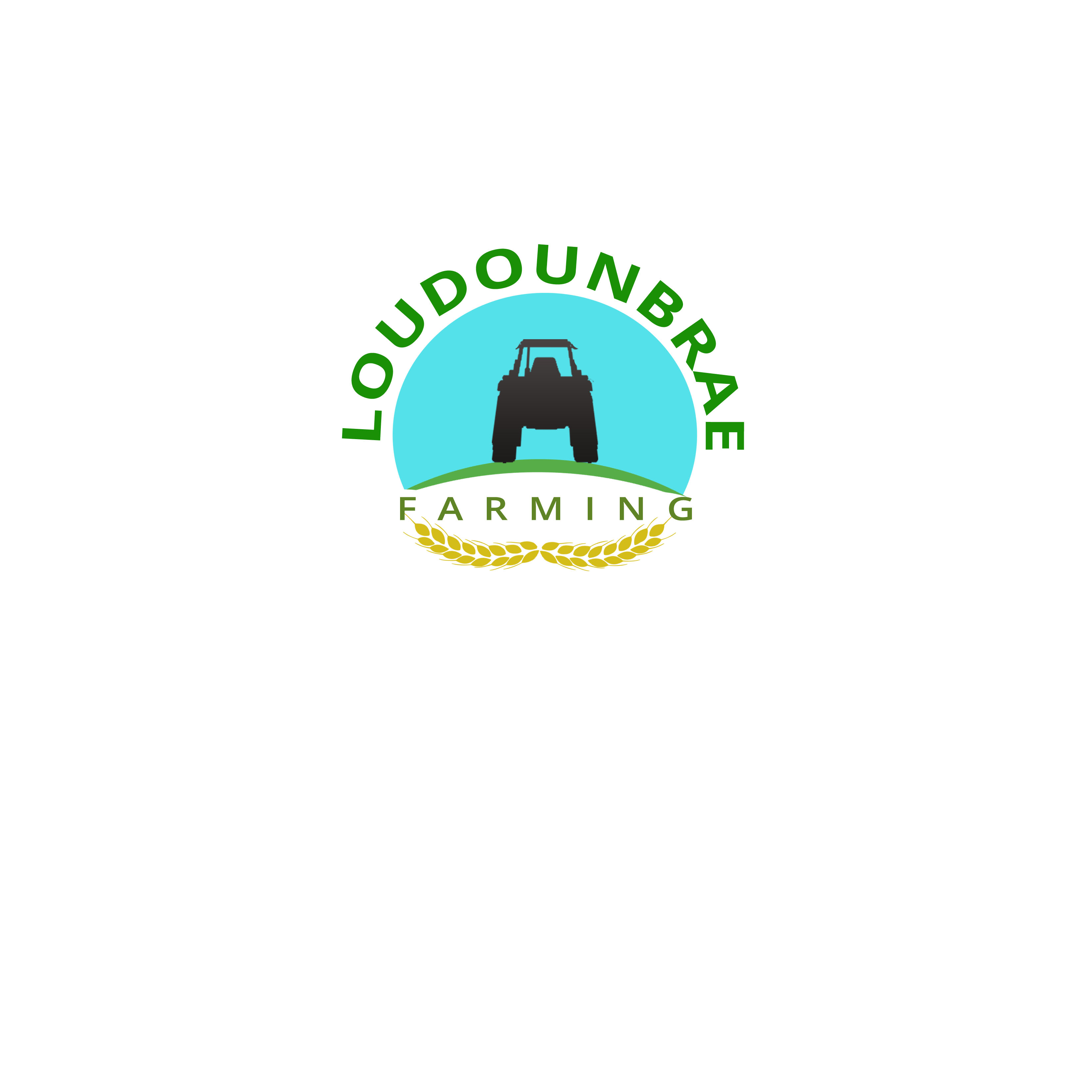 Logo Design by Mary Ann Balantac - Entry No. 24 in the Logo Design Contest Creative Logo Design for Loudounbrae Farming.
