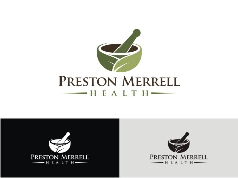 Logo Design by key - Entry No. 53 in the Logo Design Contest Creative Logo Design for Preston Merrell Health.
