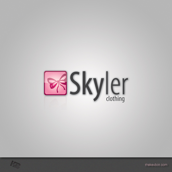 Logo Design by Kevin  Haag - Entry No. 147 in the Logo Design Contest Skyler Clothing Logo.