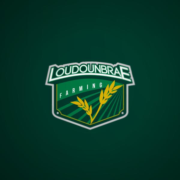Logo Design by Private User - Entry No. 31 in the Logo Design Contest Creative Logo Design for Loudounbrae Farming.
