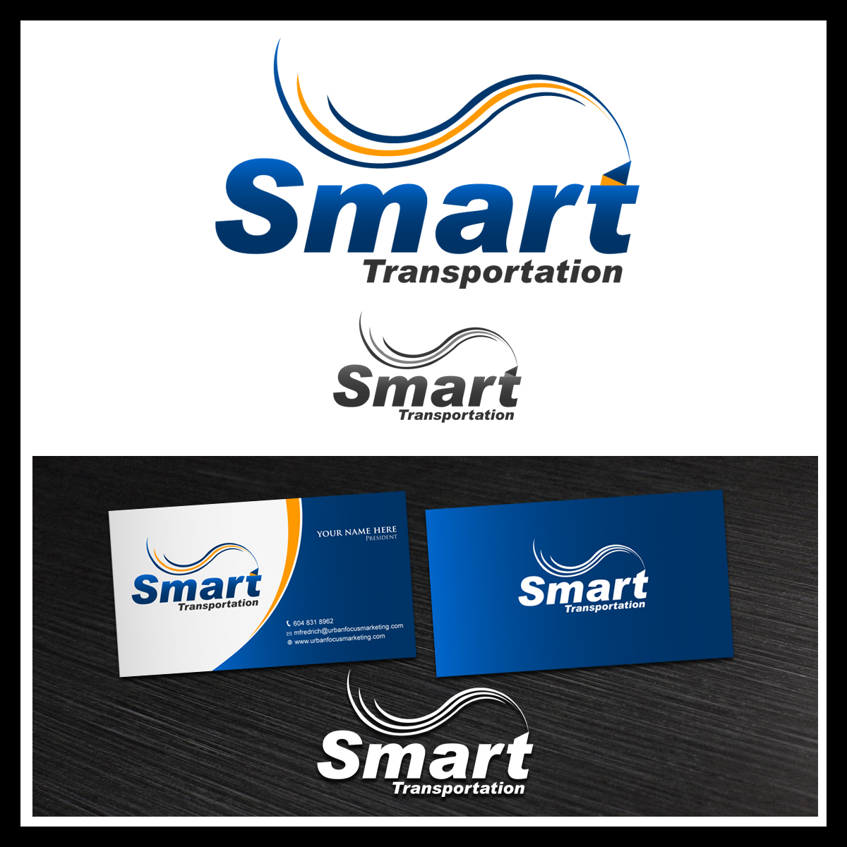 Logo Design by pixdesign - Entry No. 97 in the Logo Design Contest Imaginative Logo Design for Smart Transportation.