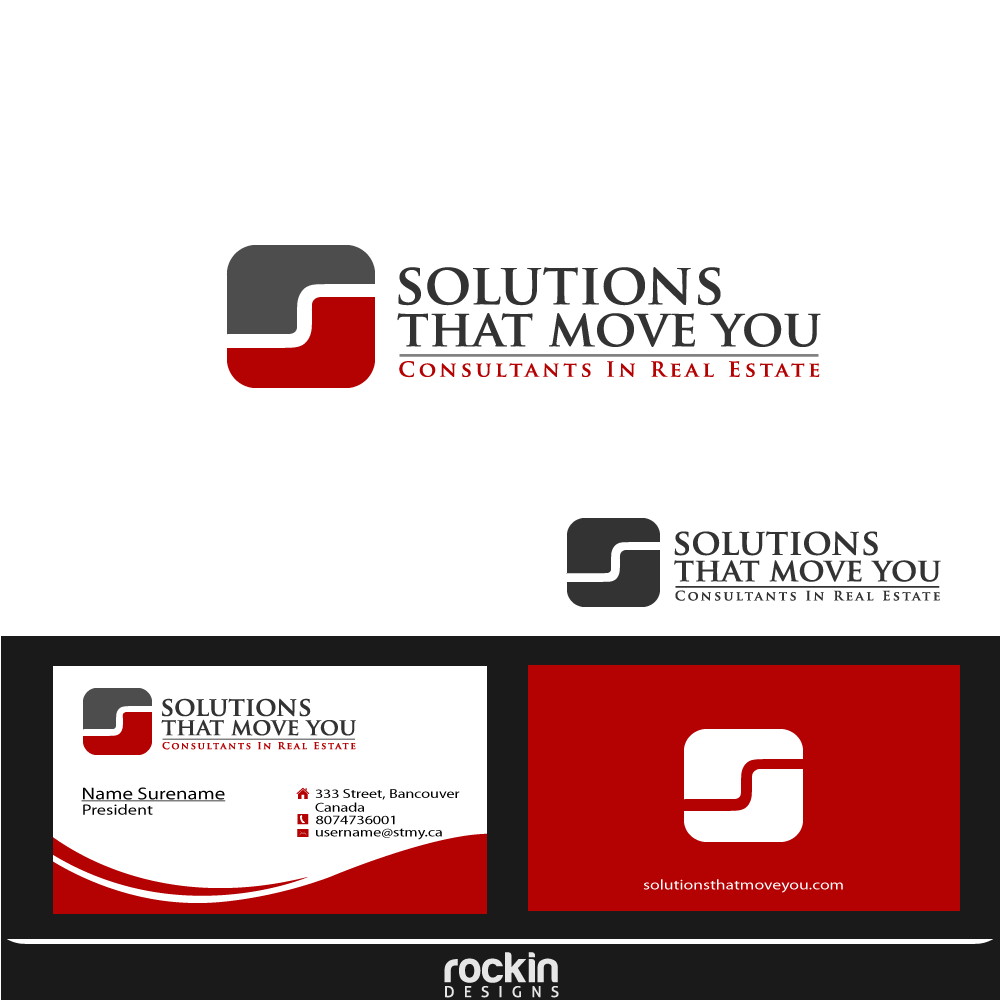 Logo Design by rockin - Entry No. 175 in the Logo Design Contest Imaginative Logo Design for Solutions That Move You.