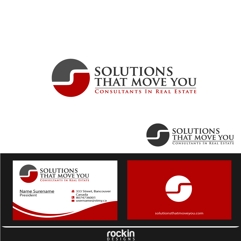 Logo Design by rockin - Entry No. 176 in the Logo Design Contest Imaginative Logo Design for Solutions That Move You.