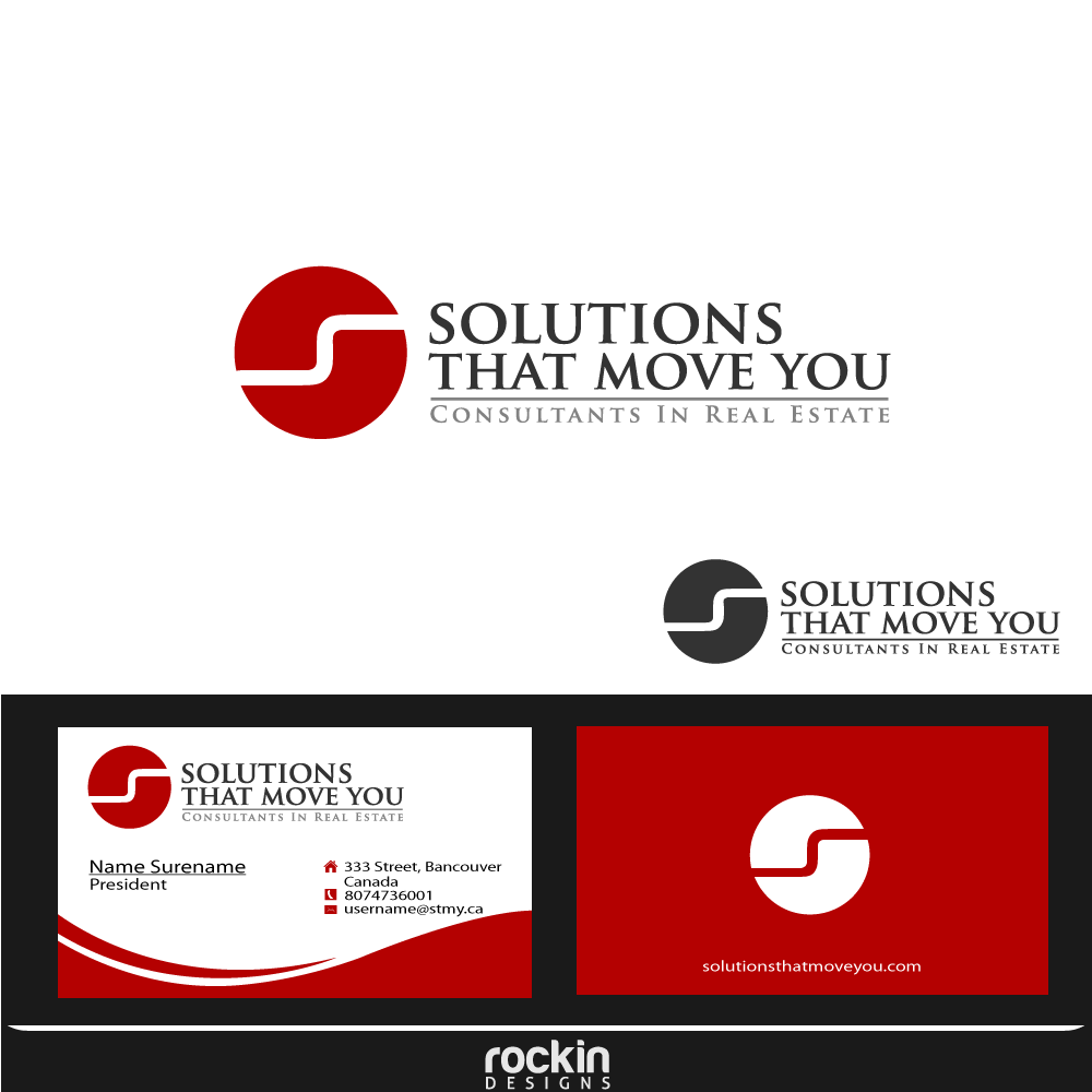 Logo Design by rockin - Entry No. 177 in the Logo Design Contest Imaginative Logo Design for Solutions That Move You.