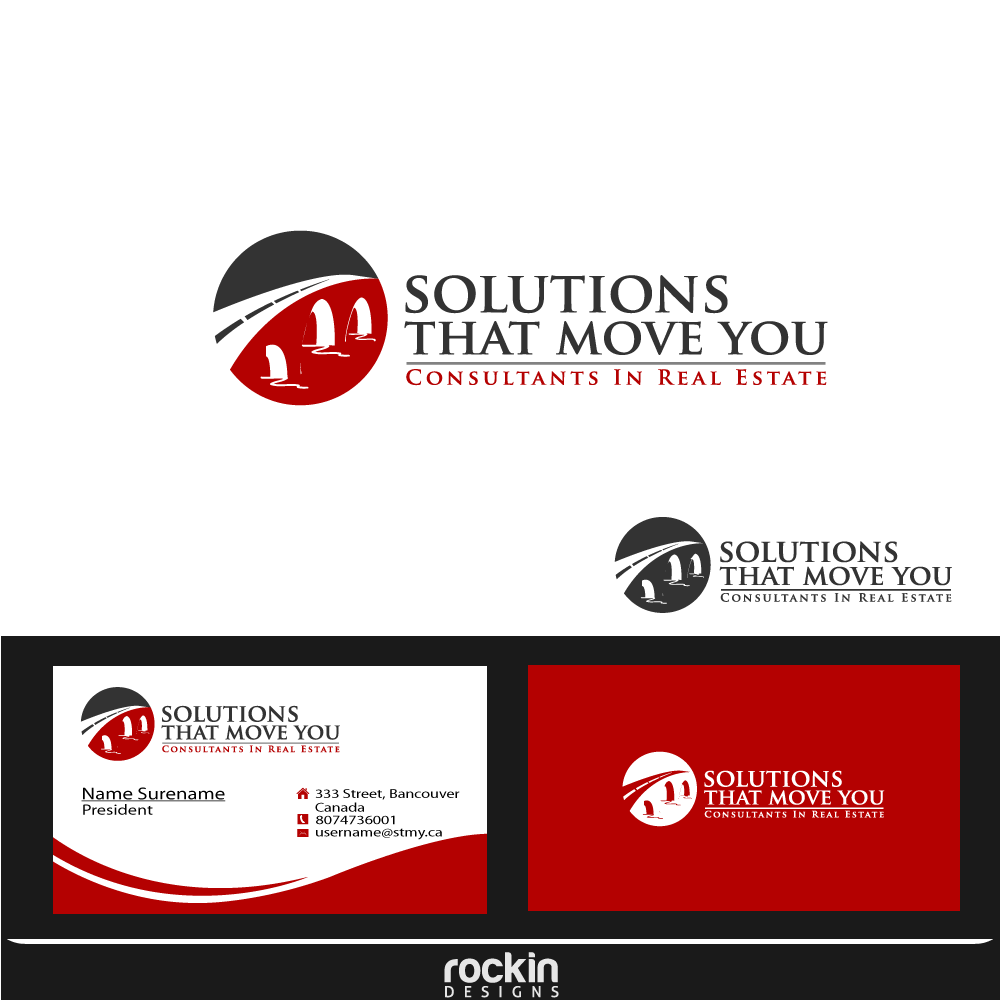 Logo Design by rockin - Entry No. 178 in the Logo Design Contest Imaginative Logo Design for Solutions That Move You.
