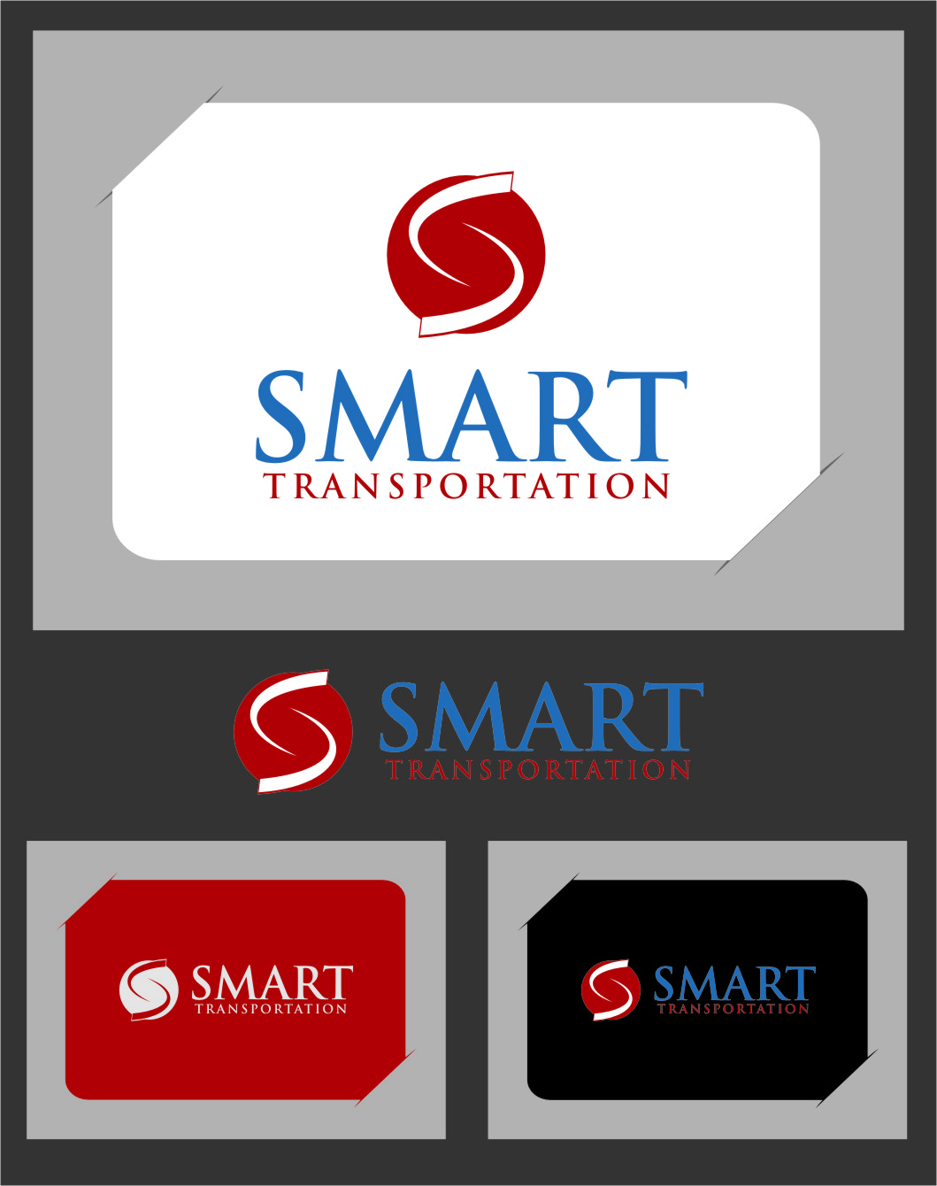 Logo Design by RasYa Muhammad Athaya - Entry No. 101 in the Logo Design Contest Imaginative Logo Design for Smart Transportation.