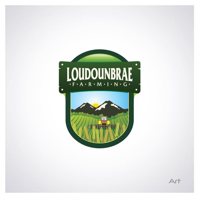 Logo Design by Puspita Wahyuni - Entry No. 33 in the Logo Design Contest Creative Logo Design for Loudounbrae Farming.