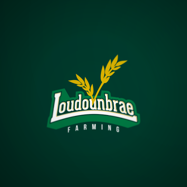 Logo Design by Private User - Entry No. 35 in the Logo Design Contest Creative Logo Design for Loudounbrae Farming.