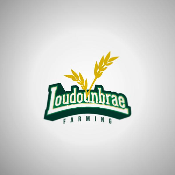 Logo Design by Private User - Entry No. 36 in the Logo Design Contest Creative Logo Design for Loudounbrae Farming.