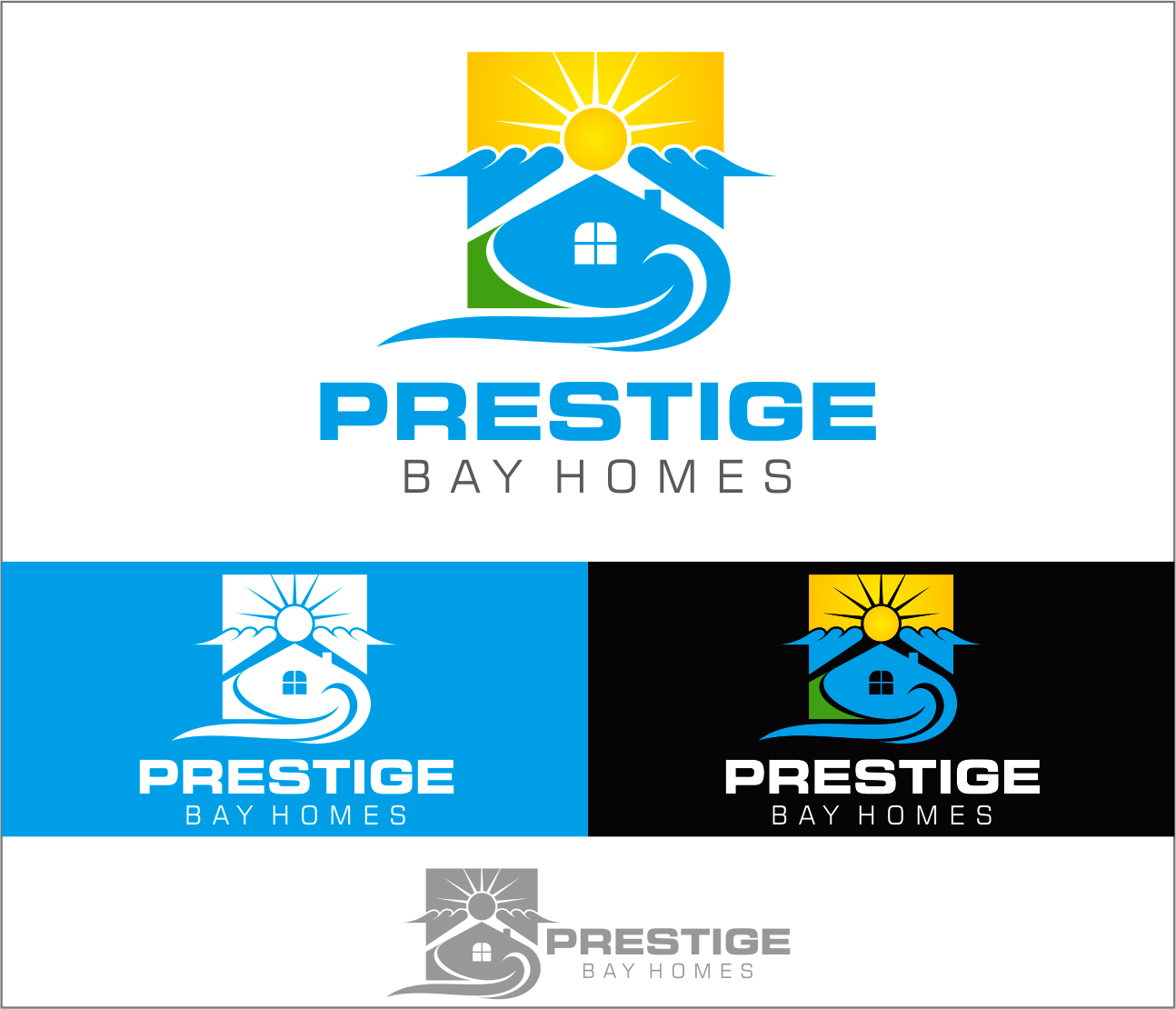 Logo Design by Armada Jamaluddin - Entry No. 154 in the Logo Design Contest Imaginative Logo Design for Prestige Bay Homes.