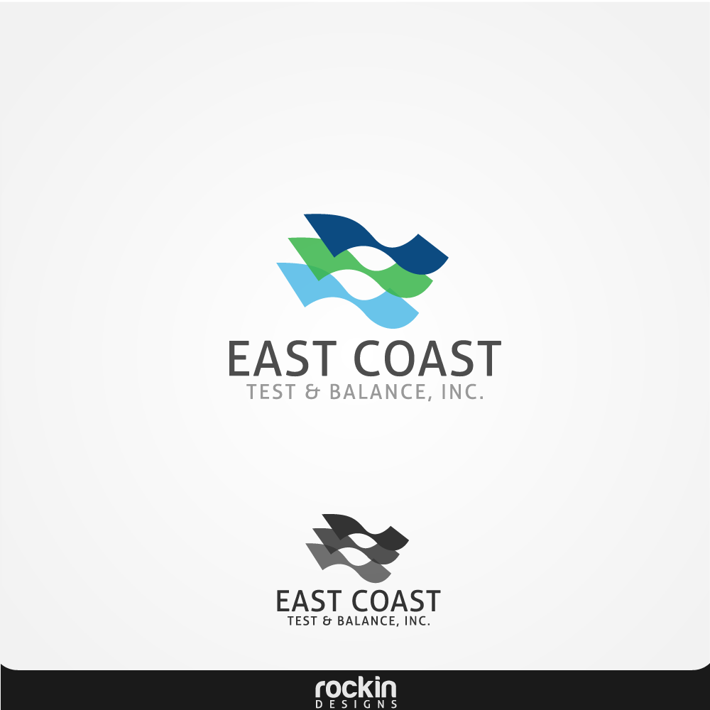 Logo Design by rockin - Entry No. 4 in the Logo Design Contest Logo Design for East Coast Test & Balance, Inc. (ECTB).