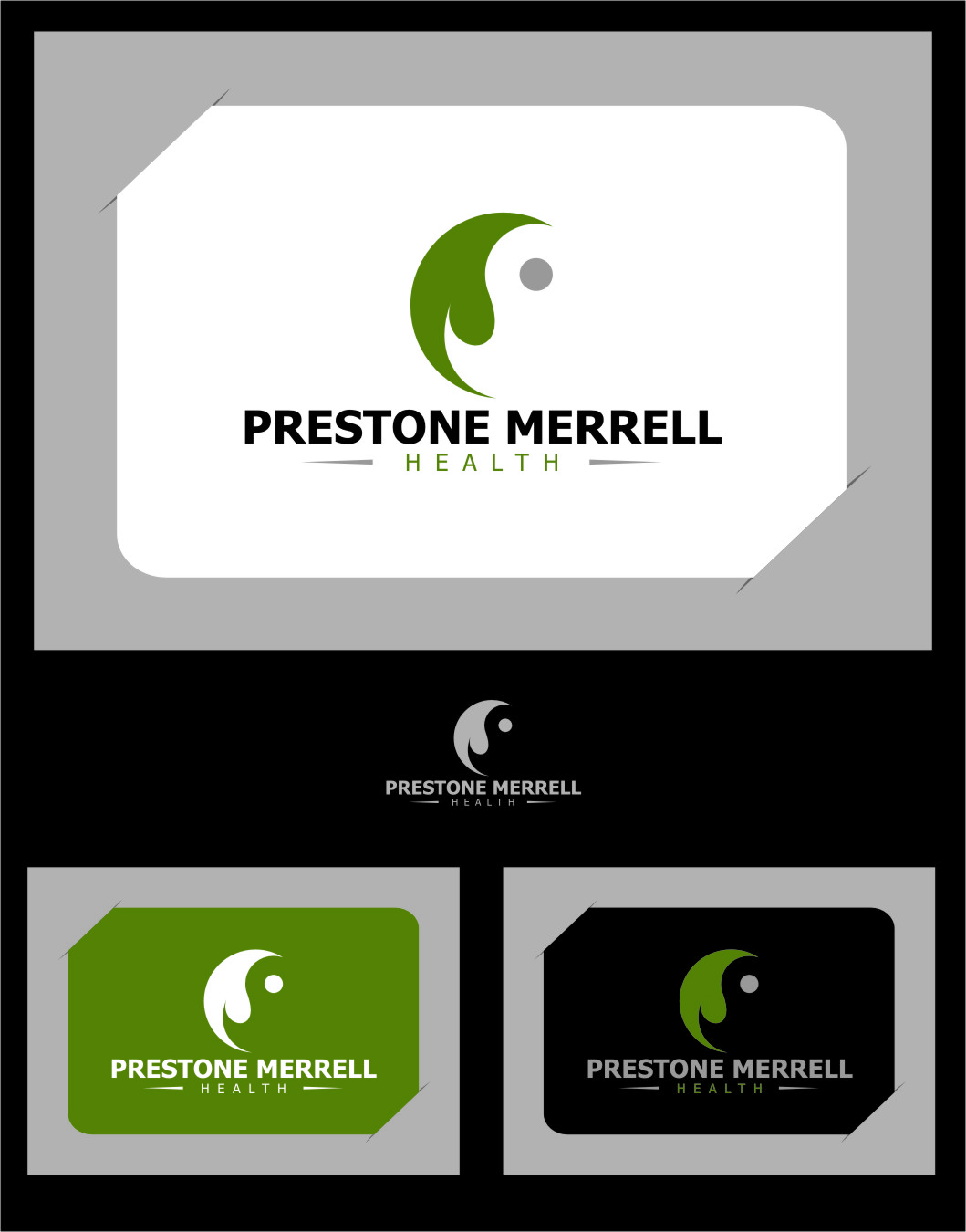 Logo Design by Ngepet_art - Entry No. 57 in the Logo Design Contest Creative Logo Design for Preston Merrell Health.