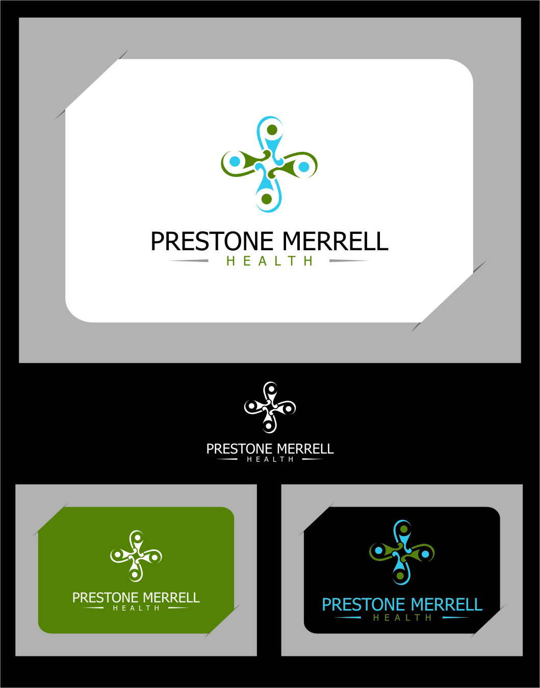 Logo Design by RasYa Muhammad Athaya - Entry No. 58 in the Logo Design Contest Creative Logo Design for Preston Merrell Health.
