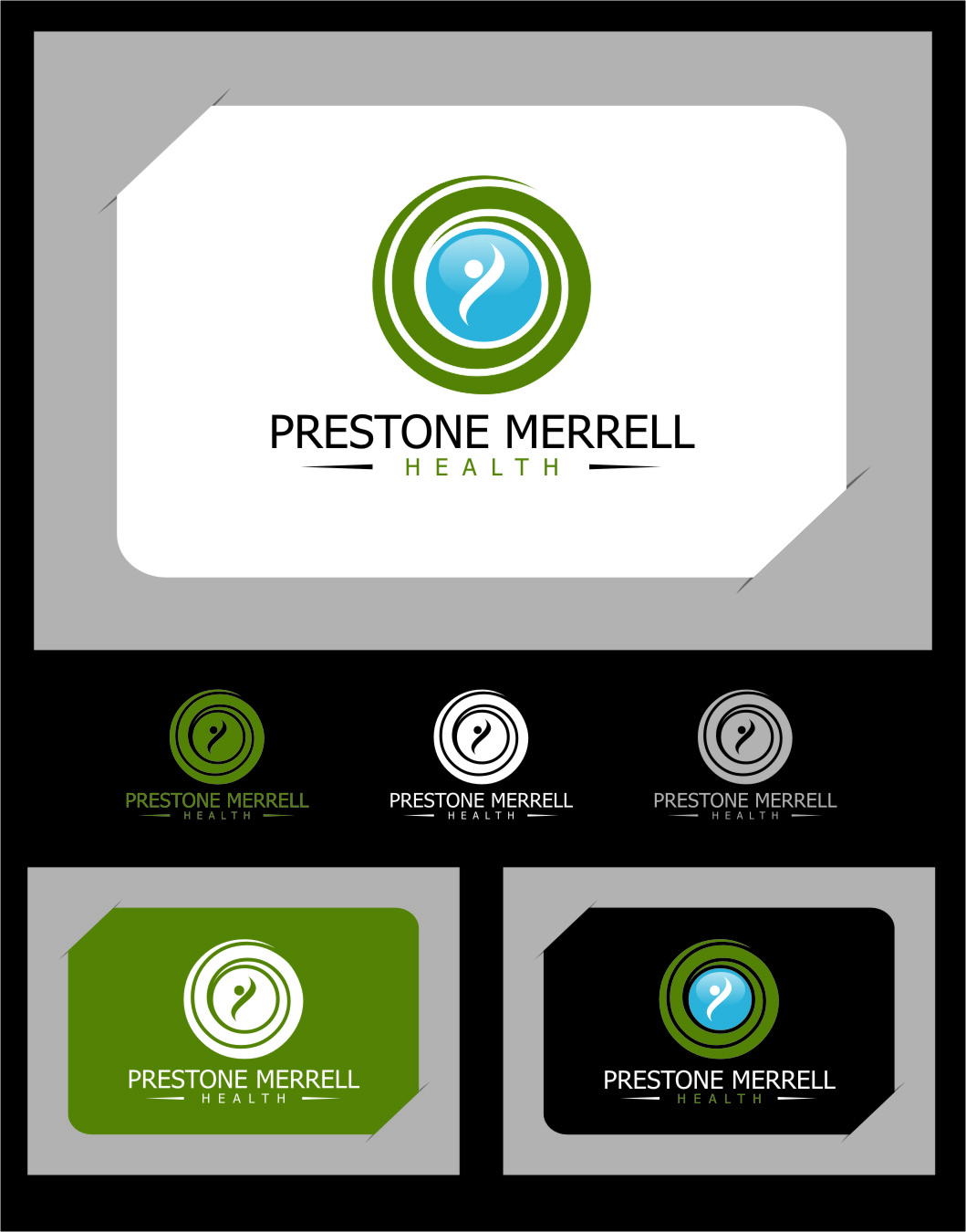 Logo Design by Ngepet_art - Entry No. 59 in the Logo Design Contest Creative Logo Design for Preston Merrell Health.