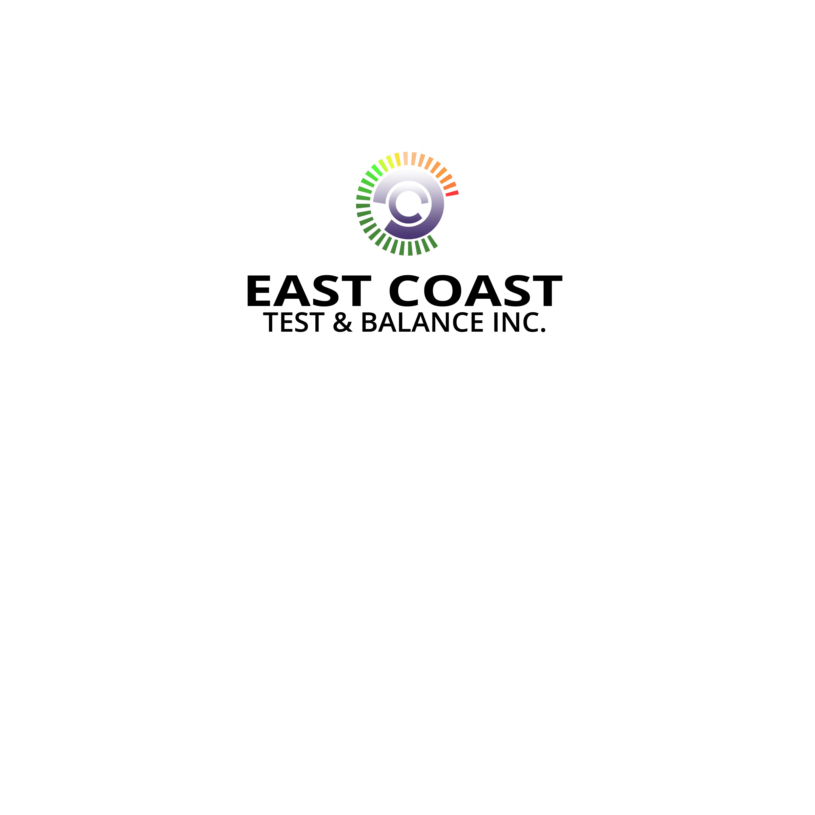 Logo Design by Allan Esclamado - Entry No. 8 in the Logo Design Contest Logo Design for East Coast Test & Balance, Inc. (ECTB).