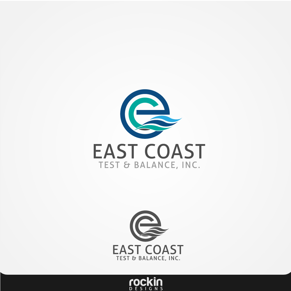 Logo Design by rockin - Entry No. 9 in the Logo Design Contest Logo Design for East Coast Test & Balance, Inc. (ECTB).