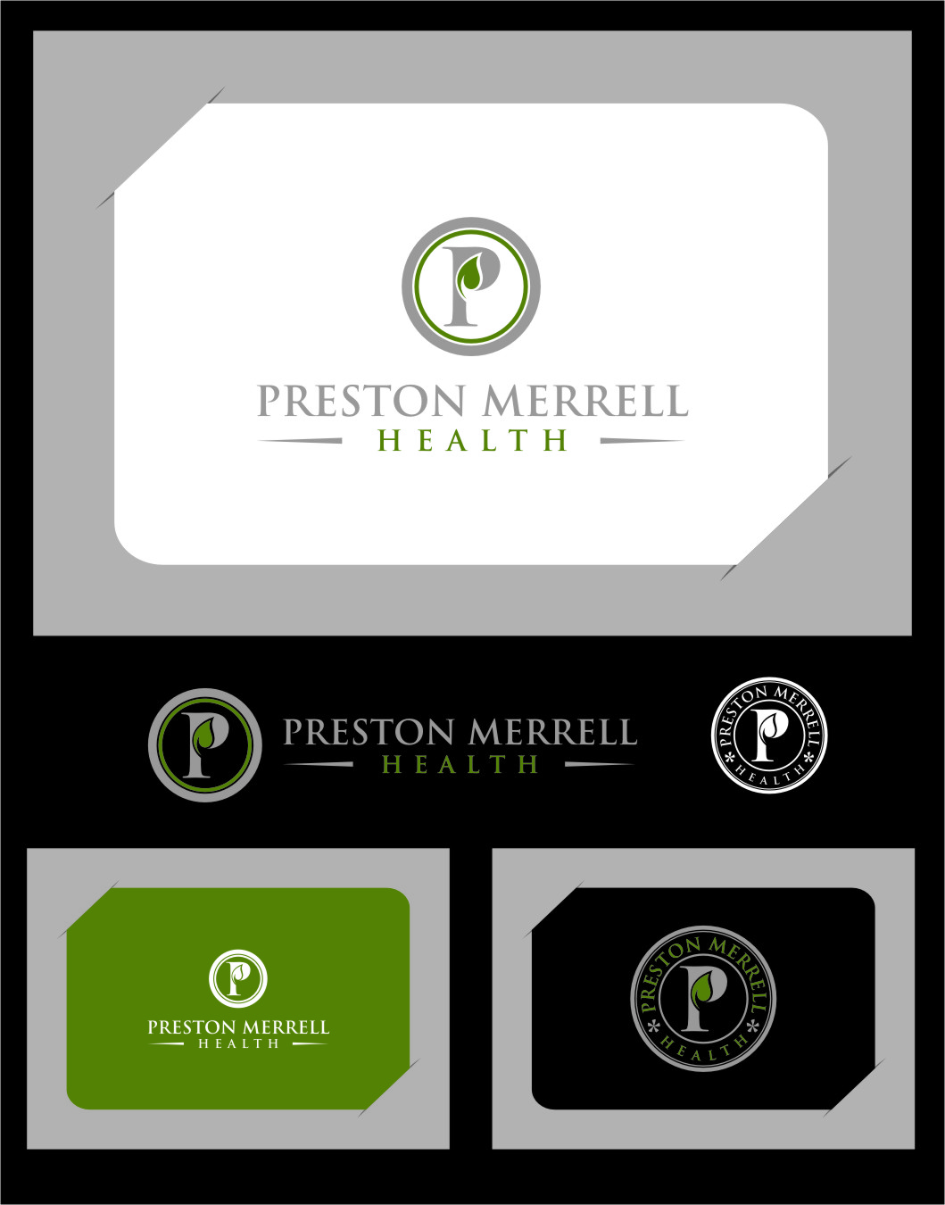 Logo Design by RasYa Muhammad Athaya - Entry No. 66 in the Logo Design Contest Creative Logo Design for Preston Merrell Health.