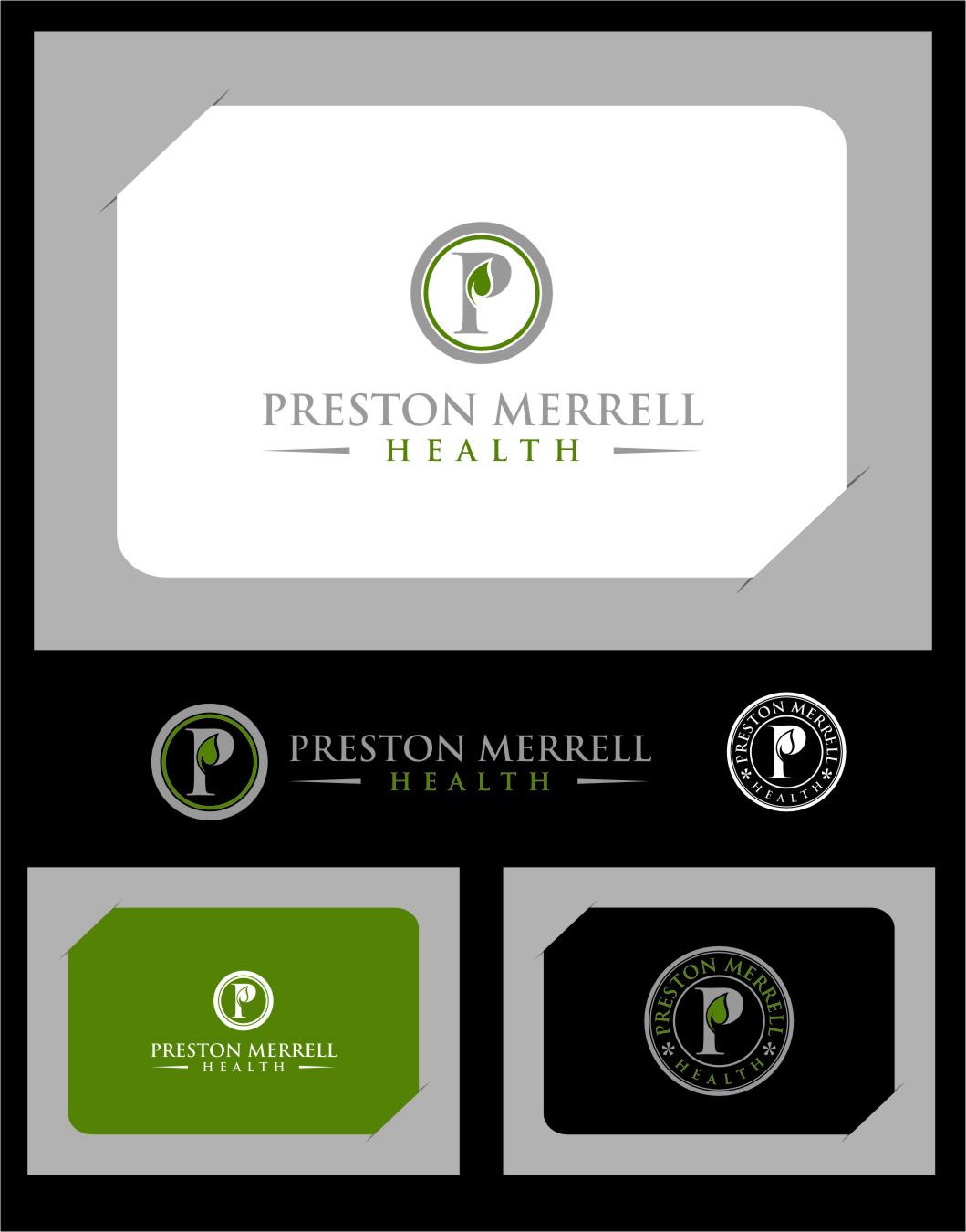 Logo Design by Ngepet_art - Entry No. 66 in the Logo Design Contest Creative Logo Design for Preston Merrell Health.
