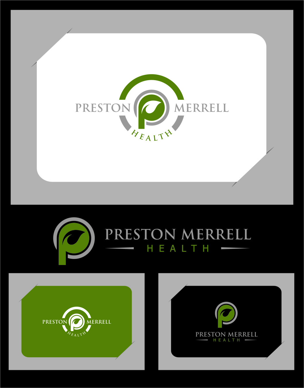 Logo Design by RasYa Muhammad Athaya - Entry No. 67 in the Logo Design Contest Creative Logo Design for Preston Merrell Health.