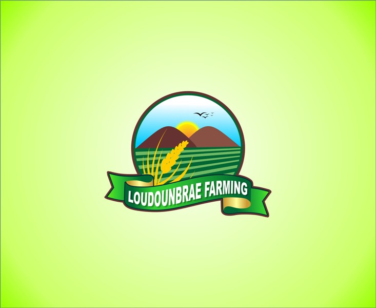 Logo Design by Mhon_Rose - Entry No. 46 in the Logo Design Contest Creative Logo Design for Loudounbrae Farming.