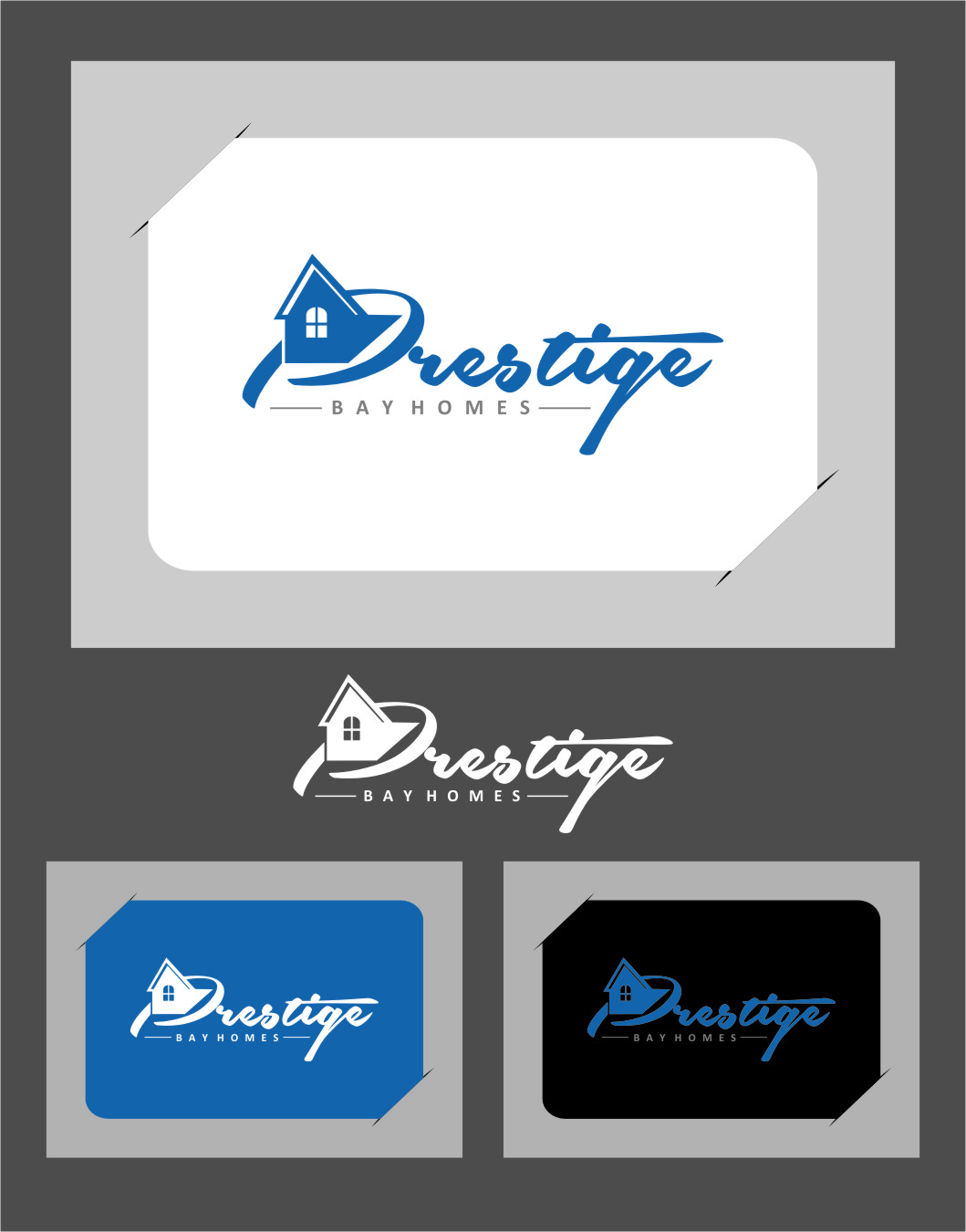 Logo Design by RasYa Muhammad Athaya - Entry No. 162 in the Logo Design Contest Imaginative Logo Design for Prestige Bay Homes.