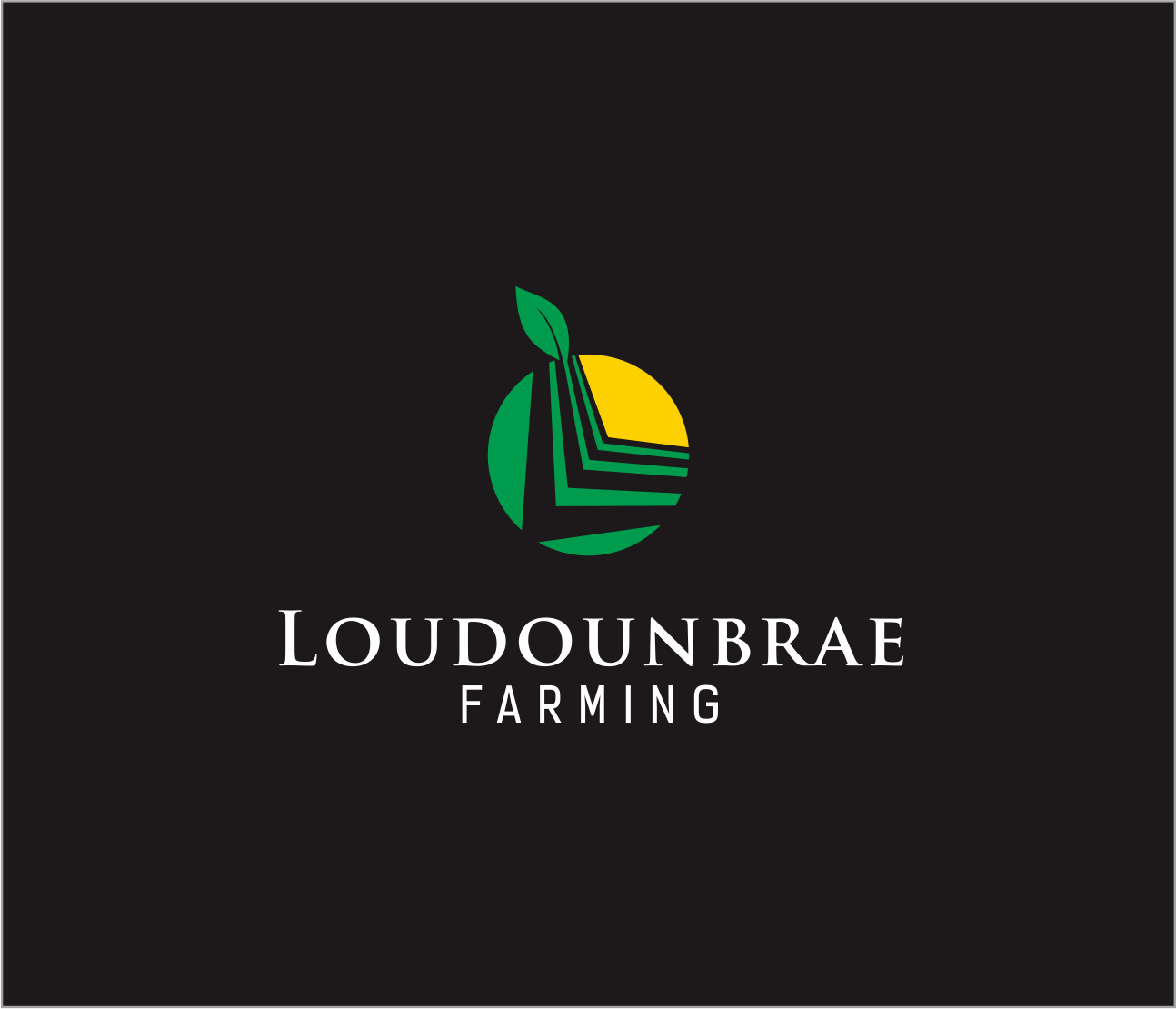 Logo Design by Armada Jamaluddin - Entry No. 48 in the Logo Design Contest Creative Logo Design for Loudounbrae Farming.