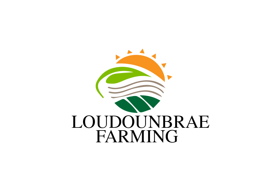 Logo Design by brands_in - Entry No. 52 in the Logo Design Contest Creative Logo Design for Loudounbrae Farming.