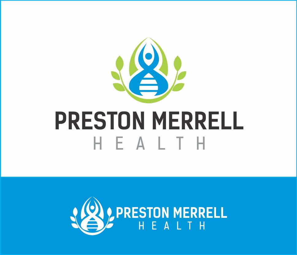 Logo Design by Armada Jamaluddin - Entry No. 74 in the Logo Design Contest Creative Logo Design for Preston Merrell Health.