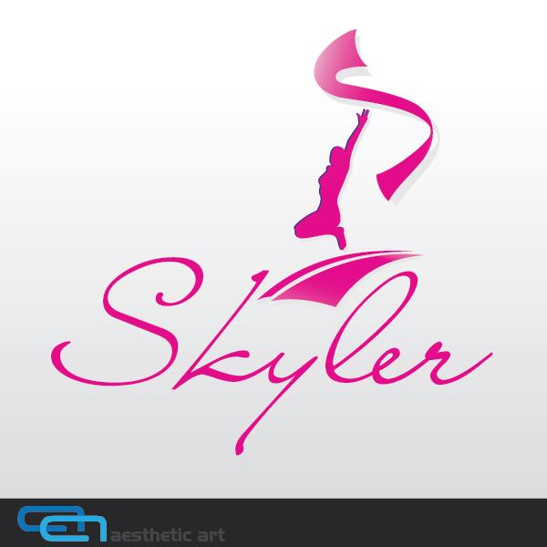 Logo Design by aesthetic-art - Entry No. 156 in the Logo Design Contest Skyler Clothing Logo.