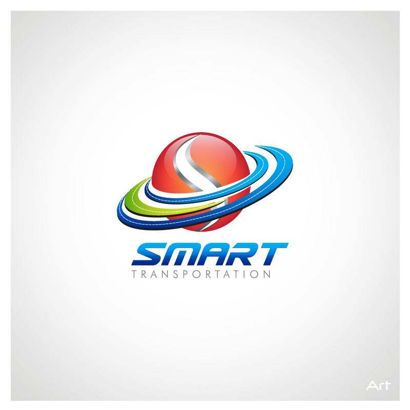 Logo Design by Puspita Wahyuni - Entry No. 132 in the Logo Design Contest Imaginative Logo Design for Smart Transportation.