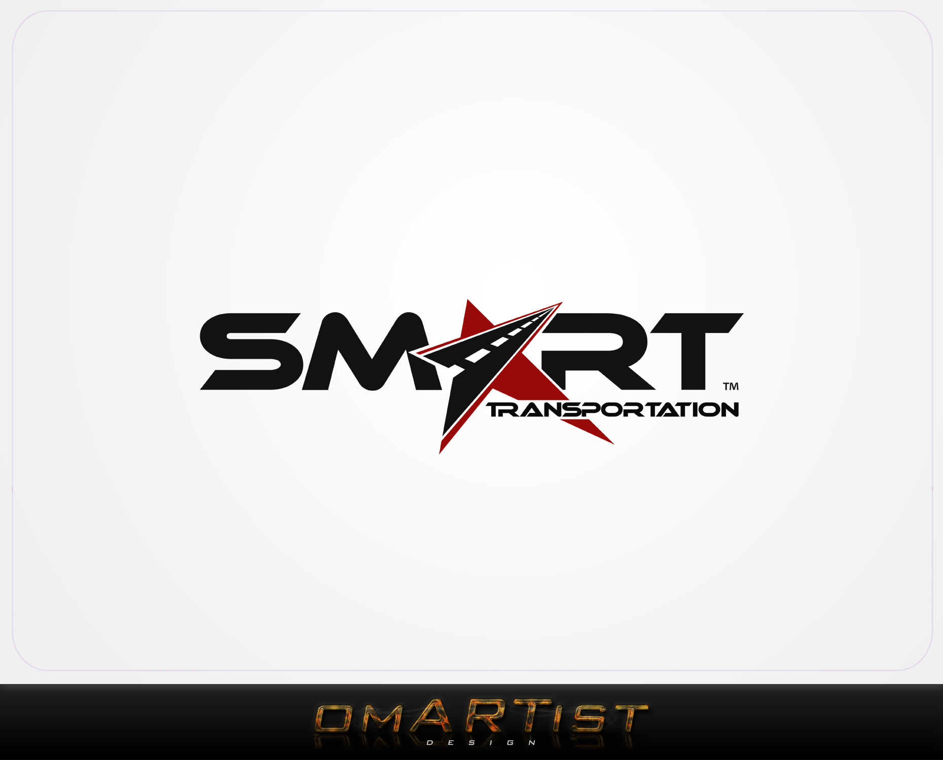 Logo Design by omARTist - Entry No. 133 in the Logo Design Contest Imaginative Logo Design for Smart Transportation.