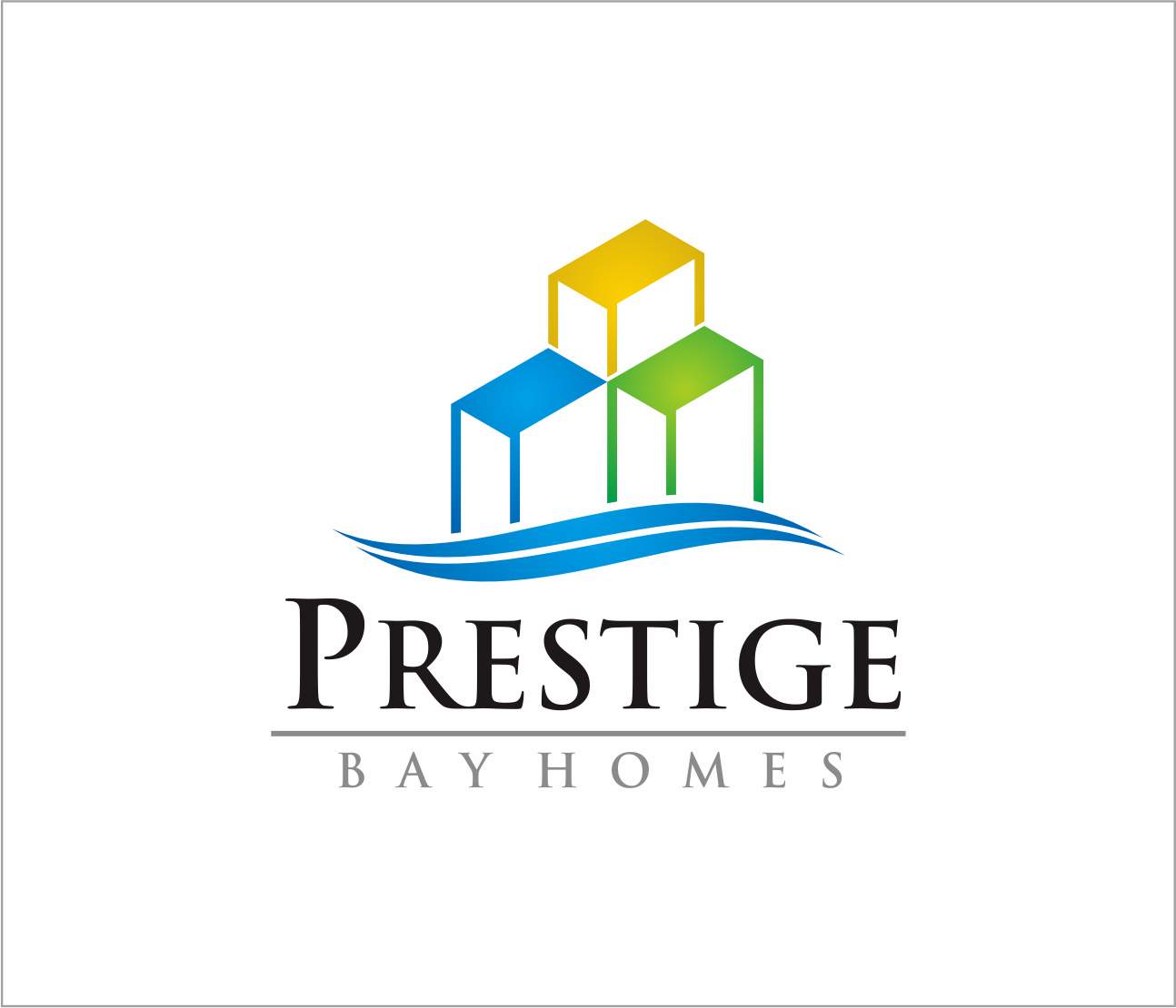 Logo Design by Armada Jamaluddin - Entry No. 166 in the Logo Design Contest Imaginative Logo Design for Prestige Bay Homes.