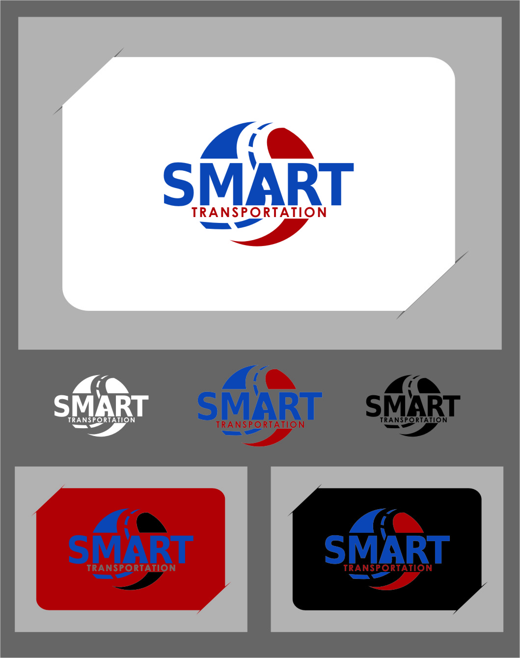Logo Design by RasYa Muhammad Athaya - Entry No. 136 in the Logo Design Contest Imaginative Logo Design for Smart Transportation.