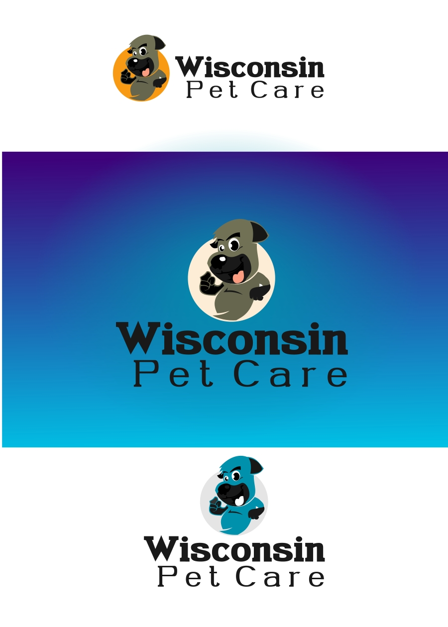 Logo Design by Private User - Entry No. 8 in the Logo Design Contest Captivating Logo Design for Wisconsin Pet Care.