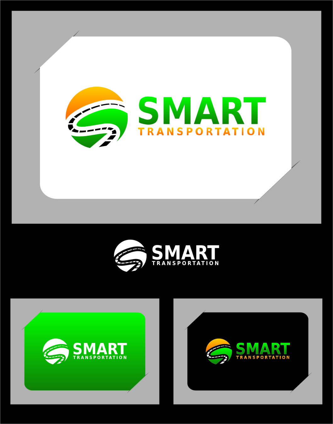 Logo Design by RasYa Muhammad Athaya - Entry No. 138 in the Logo Design Contest Imaginative Logo Design for Smart Transportation.