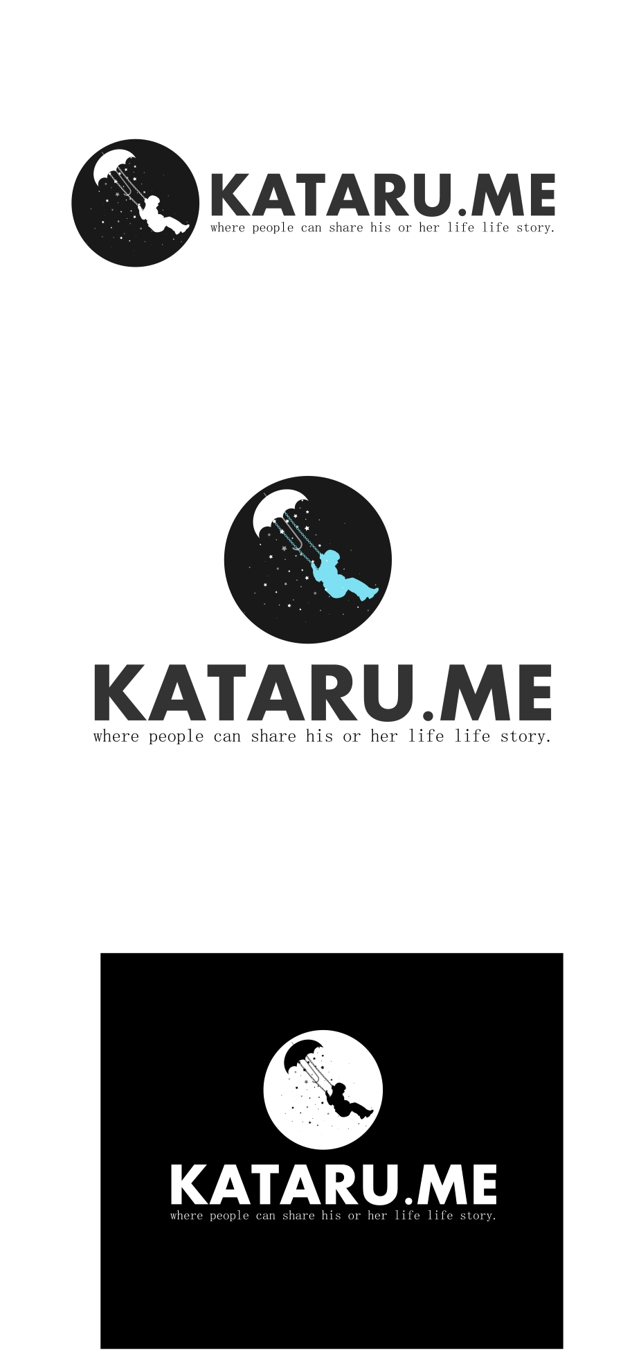 Logo Design by Private User - Entry No. 14 in the Logo Design Contest Inspiring Logo Design for KATARU.ME.