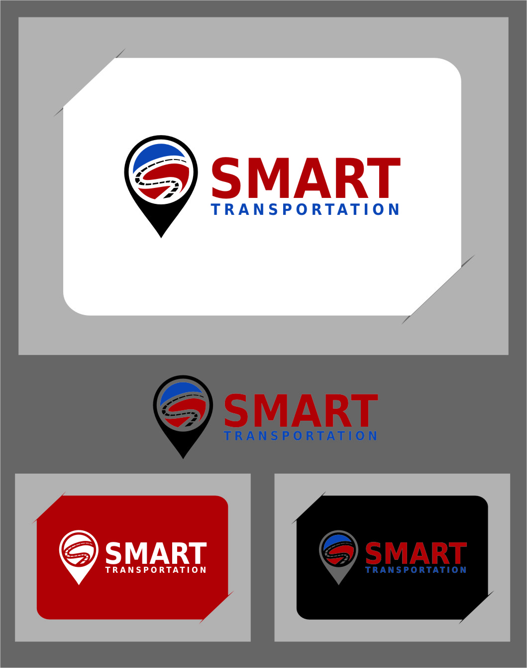 Logo Design by RasYa Muhammad Athaya - Entry No. 147 in the Logo Design Contest Imaginative Logo Design for Smart Transportation.