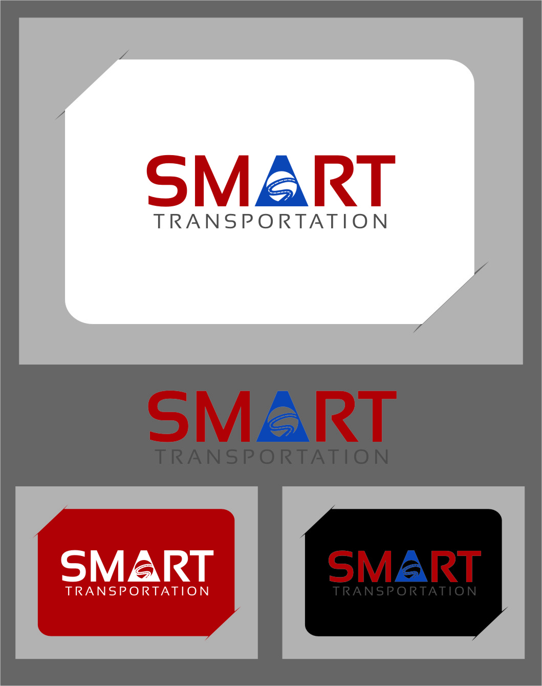 Logo Design by RasYa Muhammad Athaya - Entry No. 148 in the Logo Design Contest Imaginative Logo Design for Smart Transportation.