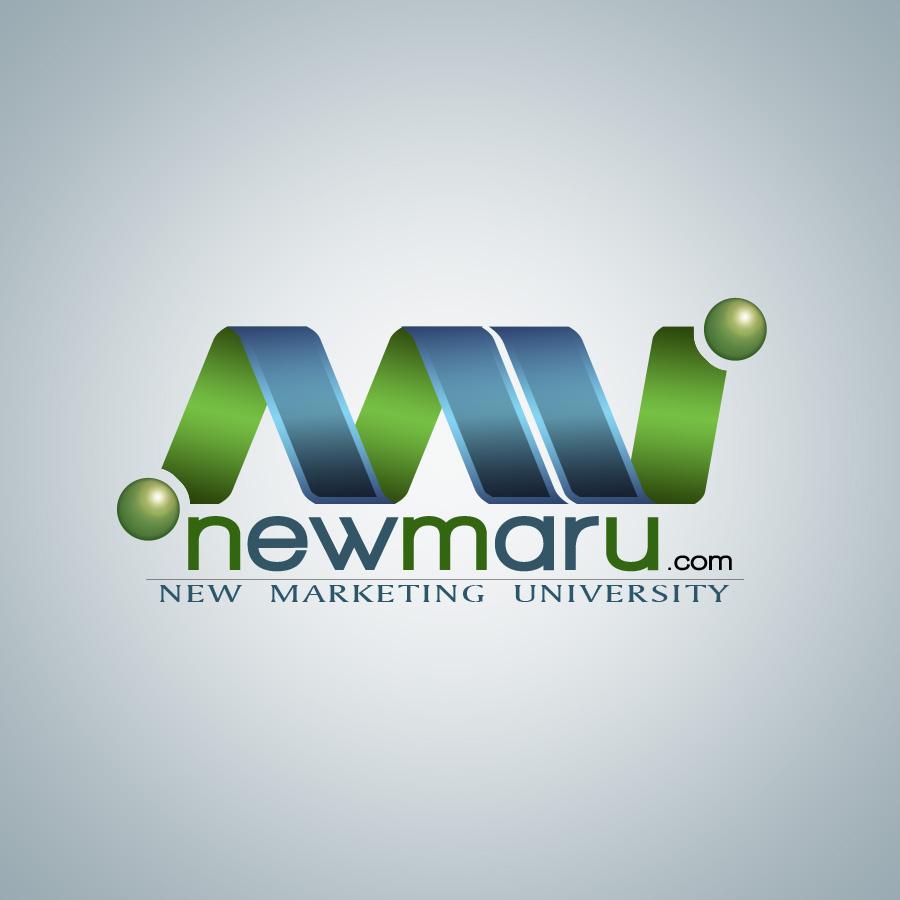 Logo Design by Renier  Bajala - Entry No. 126 in the Logo Design Contest NewMarU.com (New Marketing University).
