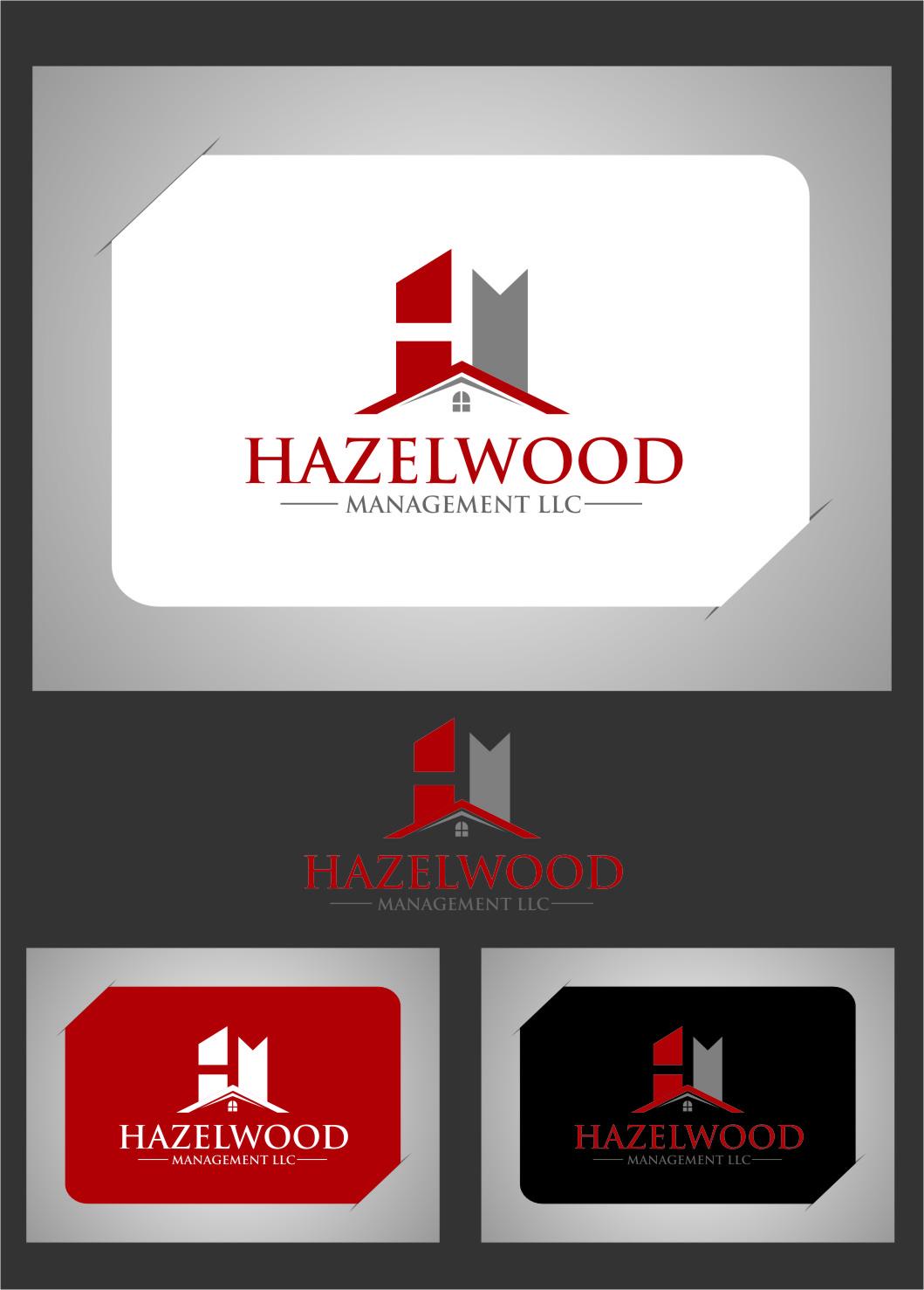 Logo Design by Ngepet_art - Entry No. 10 in the Logo Design Contest Hazelwood Management LLC Logo Design.