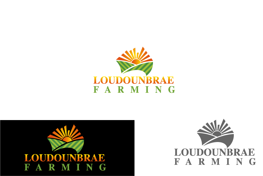 Logo Design by Private User - Entry No. 59 in the Logo Design Contest Creative Logo Design for Loudounbrae Farming.