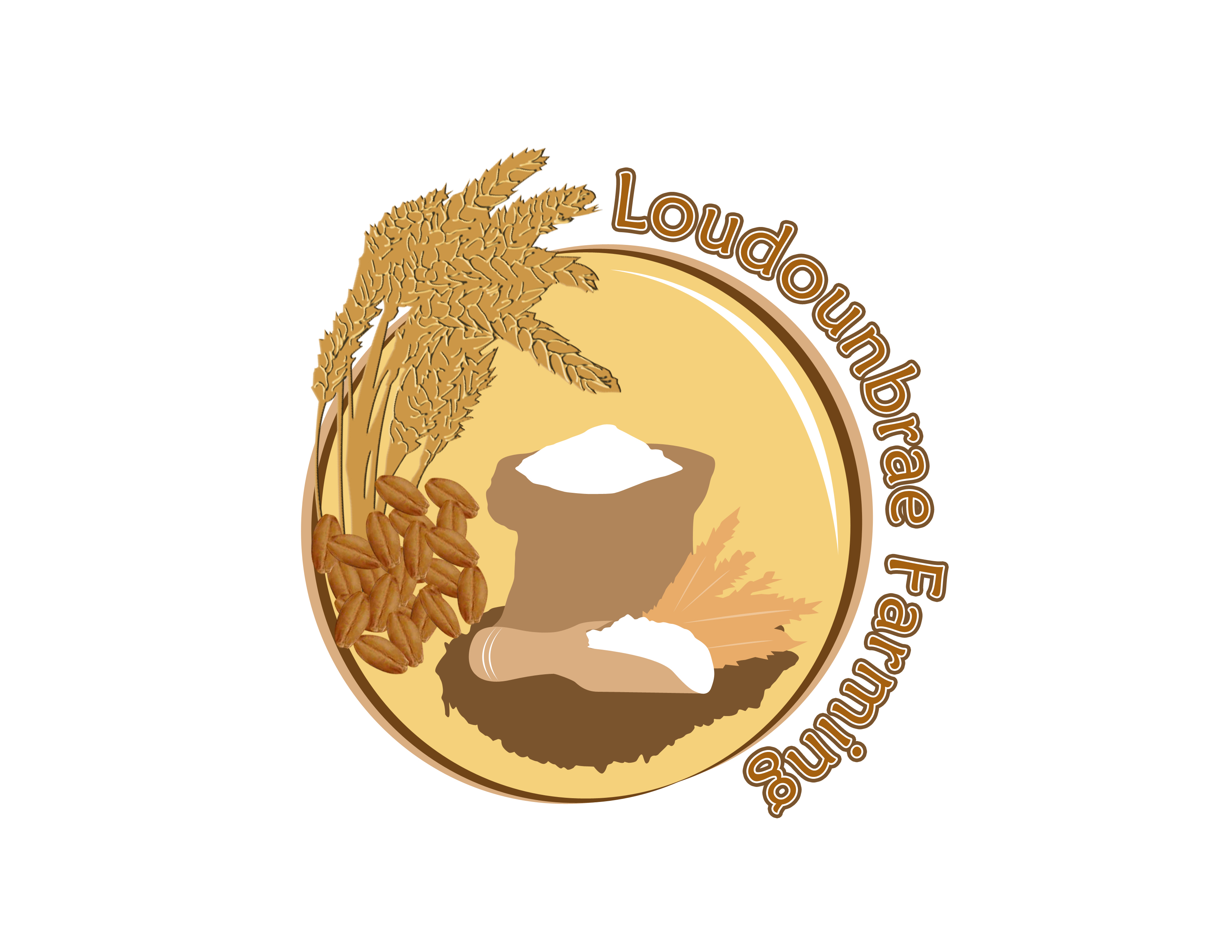 Logo Design by Jo Cres Jao - Entry No. 62 in the Logo Design Contest Creative Logo Design for Loudounbrae Farming.