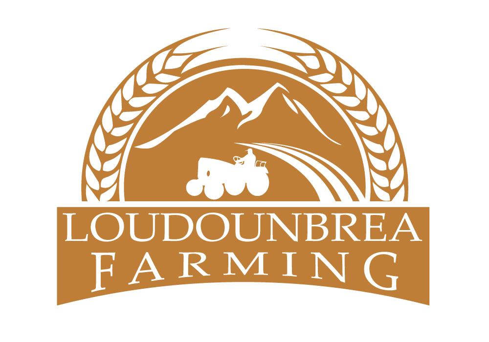 Logo Design by Amianan - Entry No. 64 in the Logo Design Contest Creative Logo Design for Loudounbrae Farming.