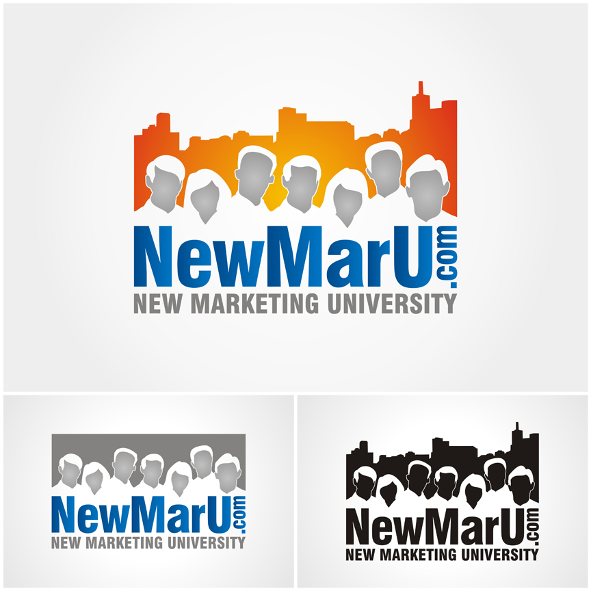 Logo Design by killer_meowmeow - Entry No. 130 in the Logo Design Contest NewMarU.com (New Marketing University).