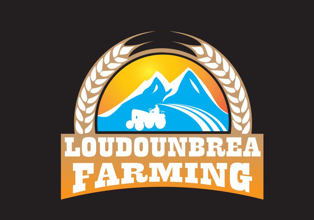 Logo Design by Amianan - Entry No. 65 in the Logo Design Contest Creative Logo Design for Loudounbrae Farming.